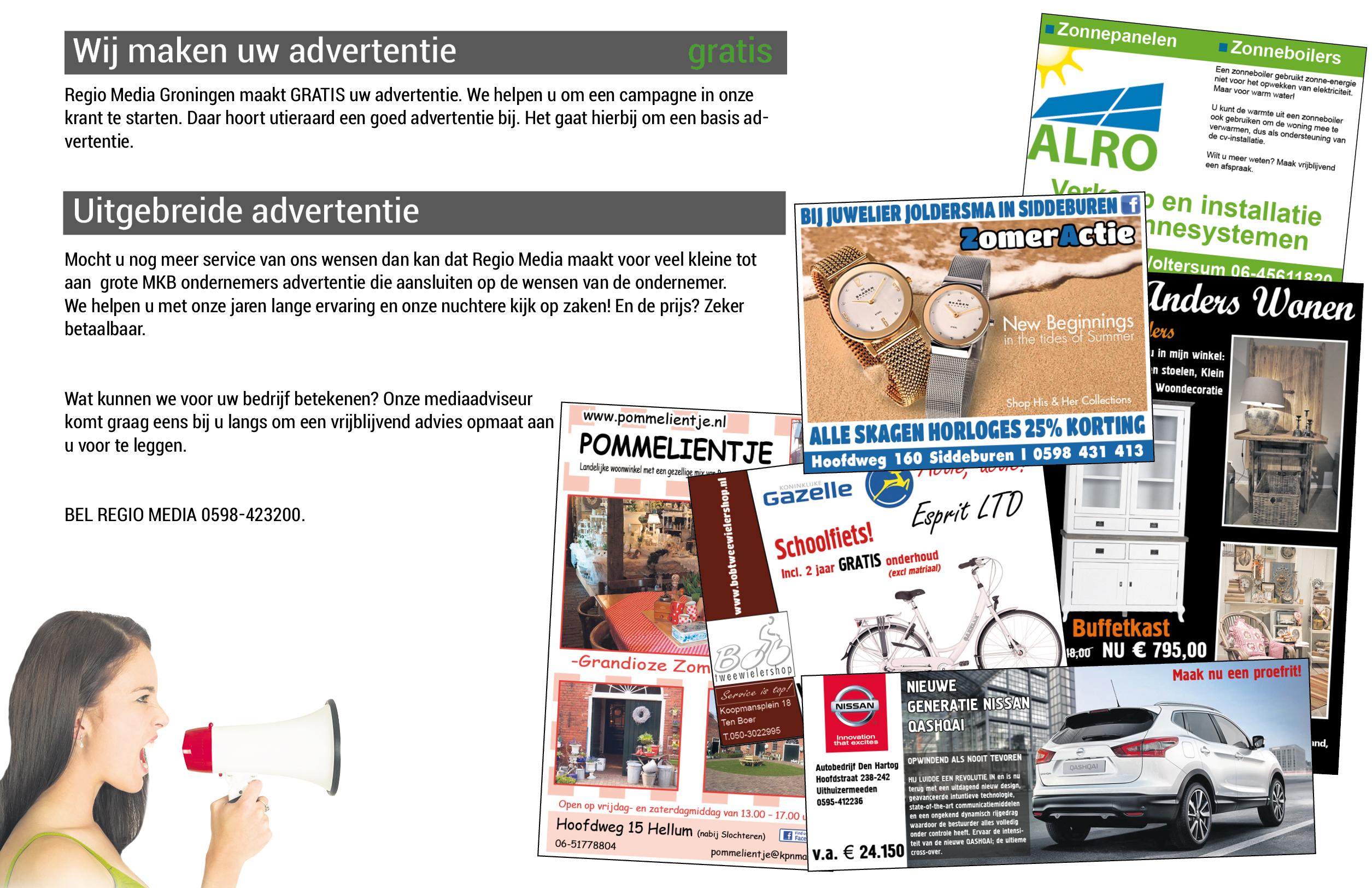 advertentie krant 2015